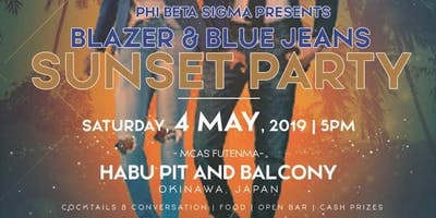 BLAZER & BLUE JEANS SUNSET PARTY