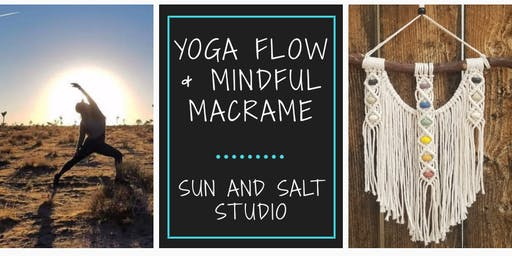 Yoga Flow & Mindful Macramé