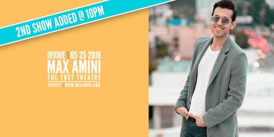 Max Amini Live in Irvine ll - Authentically Absurd Tour