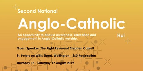 Anglo-Catholic Hui 2019 tickets
