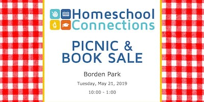End of the Year Homeschool Picnic, Used Book Sale, and New Parent Orientation