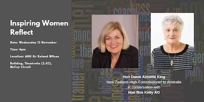 Inspiring Women Reflect: Hon Dame Annette King & Hon Ros Kelly AO