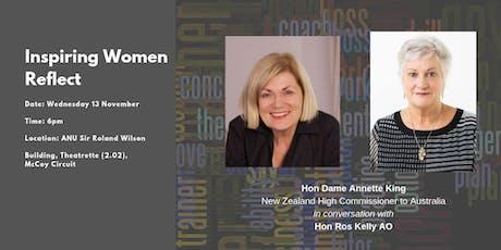 Inspiring Women Reflect: Hon Dame Annette King & Hon Ros Kelly AO tickets
