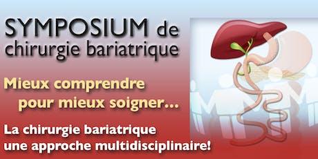 Symposium de chirurgie bariatrique billets