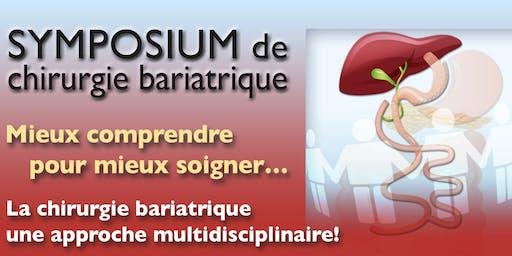 Symposium de chirurgie bariatrique
