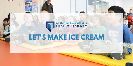 Let's Make Ice Cream (ages 3+) tickets