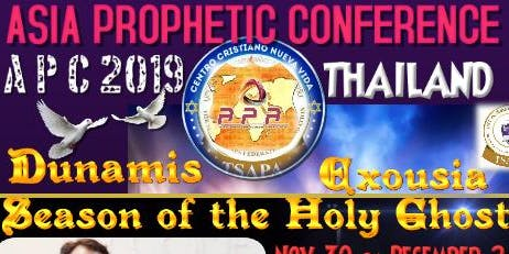 ASIA PROPHETIC CONFERENCE 2019