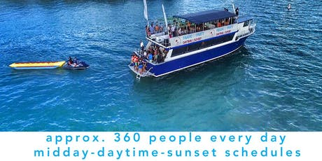 #N1 MIAMI BOAT PARTY + 3H FULL OPEN BAR tickets
