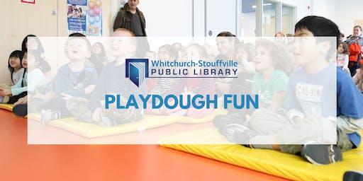 Playdough Fun (ages 3+)