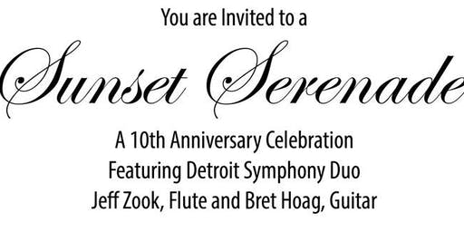 Sunset Serenade – A 10th Anniversary Celebration of the  White Lake Chamber Music Festival