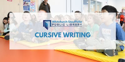 Cursive Writing (ages 8+)