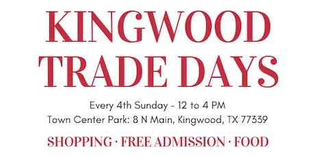 October Kingwood Trade Days tickets