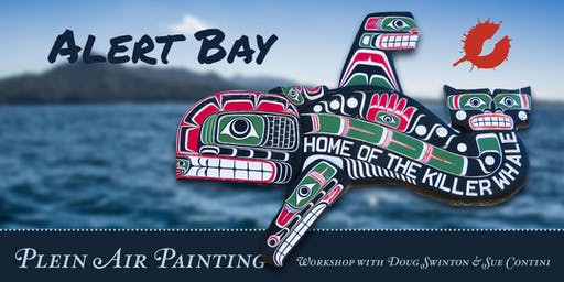 Alert Bay • Fall Paint-Out Workshop with Doug Swinton and Sue Contini
