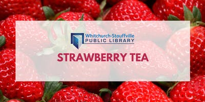 Strawberry Tea (ages 3+)