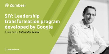 Search Inside Yourself: Leadership Transformation with Craig Davis, Cofounder Sendle tickets