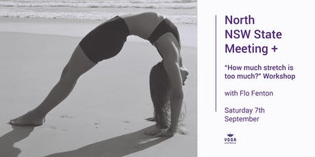 "Nth NSW Meeting + ""How much stretch is too much?"" Workshop with Flo Fenton tickets"
