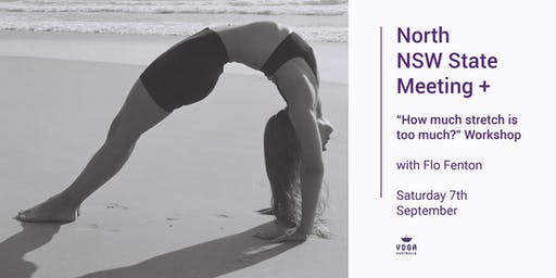 "Nth NSW Meeting + ""How much stretch is too much?"" Workshop with Flo Fenton"