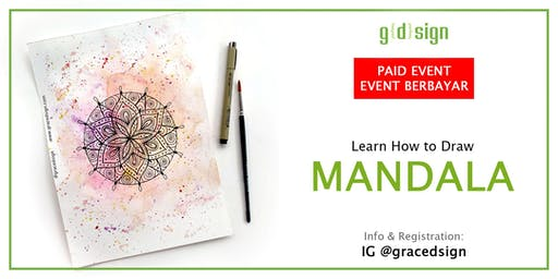 Learn How to Draw Mandala (TIDAK GRATIS)
