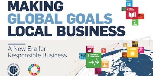 Making Global Goals Local Business Cardiff - Global Goals Roadshow 2019