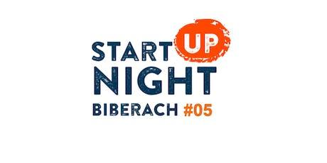 Start-up Night Biberach #05 tickets