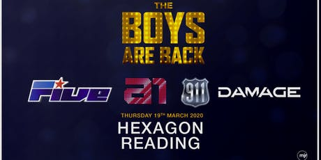 The boys are back! 5ive/A1/Damage/911 (Hexagon, Reading) tickets