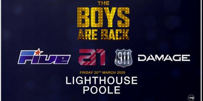 The boys are back! 5ive/A1/Damage/911 (Lighthouse, Poole)