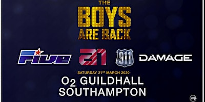 The boys are back! 5ive/A1/Damage/911 (O2 Guildhall, Southampton) - M&G Upgrade