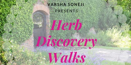 Herb Discovery Walks tickets