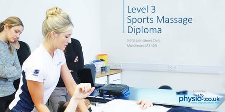 Level 3 Sports Massage Diploma (VTCT) tickets