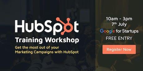 Digital Marketing & HubSpot Training Workshop - Learn HubSpot in 1 Day tickets