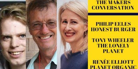 The Makers Conversation: An Evening With Renée Elliott & Tony Wheeler  tickets