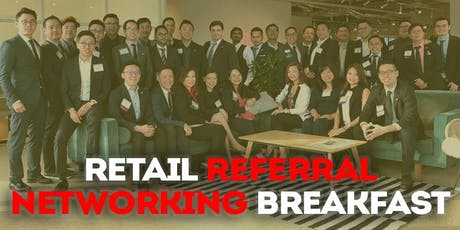Retail Referral Networking breakfast (for business owners) tickets