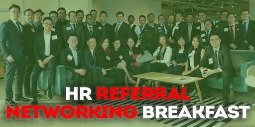 HR Business Referral Networking breakfast (for business owners)