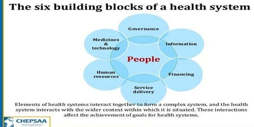 Training Course On Analysing Disrupted Health Systems
