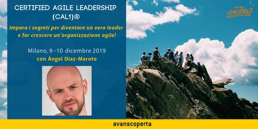 Certified Agile Leadership (CAL1)® 2019
