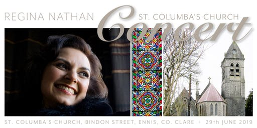 Regina Nathan, Soprano | Summer Concert for St. Columba's Church, Ennis