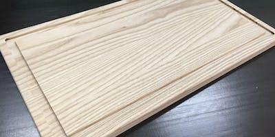 Einführung in die Holzwerkstatt - Schneidbrett aus Esche oder Buche