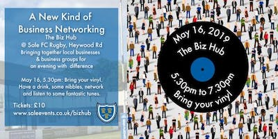 The Biz Hub: Bring your Vinyl - a new kind of business networking