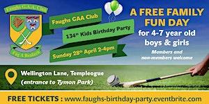 Faughs GAA Club 134th Kids Birthday Party