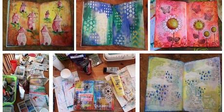 Craft Classes for Adults – June/July 2019 - Introduction to Mixed Media Art Journaling tickets