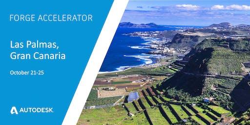 Autodesk Forge Accelerator - Las Palmas, Gran Canaria (October 21-25)