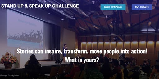 Stand Up & Speak Up Challenge