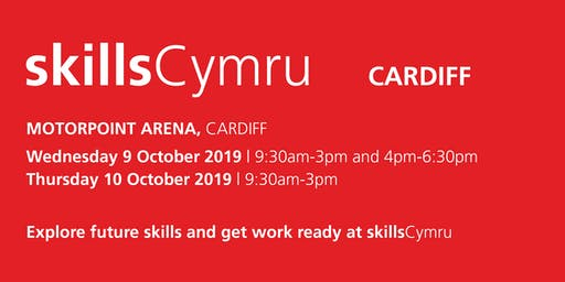 SkillsCymru Cardiff 2019 - School / College Registration