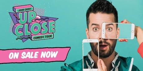 John Crist - THE UP CLOSE COMEDY TOUR - Winnipeg, MB tickets