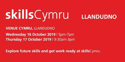 SkillsCymru Llandudno 2019 - School / College Registration