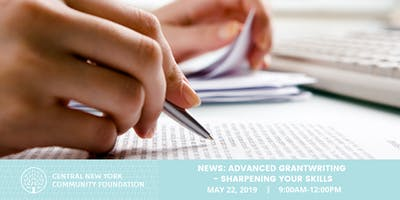 NEWS 2019: Advanced Grantwriting - Sharpening Your Skills