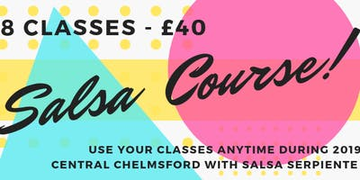 Buy a Salsa 8 week course