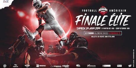FINALE 2019 DU CHAMPIONNAT DE FRANCE ELITE DE FOOTBALL AMERICAIN tickets