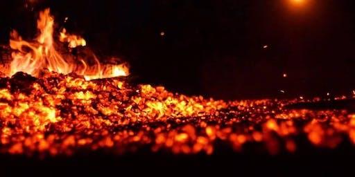 Feel the heat beneath your feet - Fundraising Firewalk