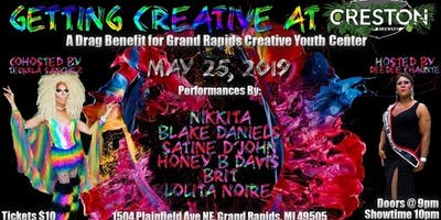 Getting Creative at Creston: a Drag Benefit for GR Creative Youth Center